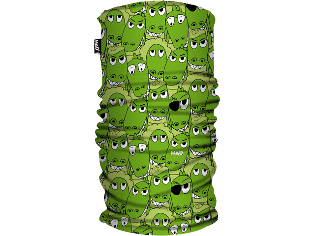 HAD Printed Fleece Tube Scarf Kids kroko